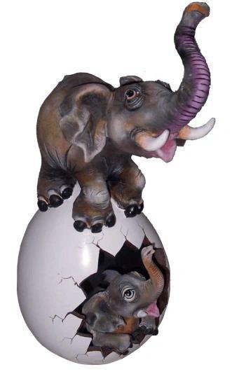 Elephant Maternal Egg- Small