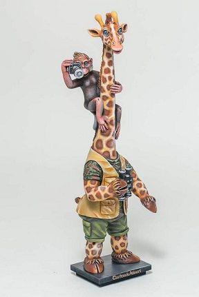 Giraffe on Safari- Large
