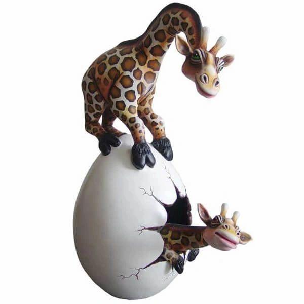 Giraffe Maternal Egg - Large