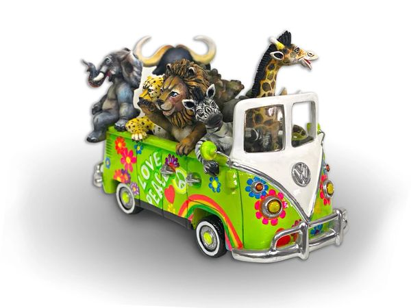 Hippie Safari VW Van