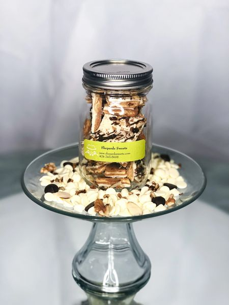 (Individual) Zebra Crunch Toffee