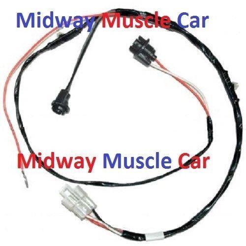 rear floor console wiring harness 64 65 66 Pontiac GTO LeMans tempest