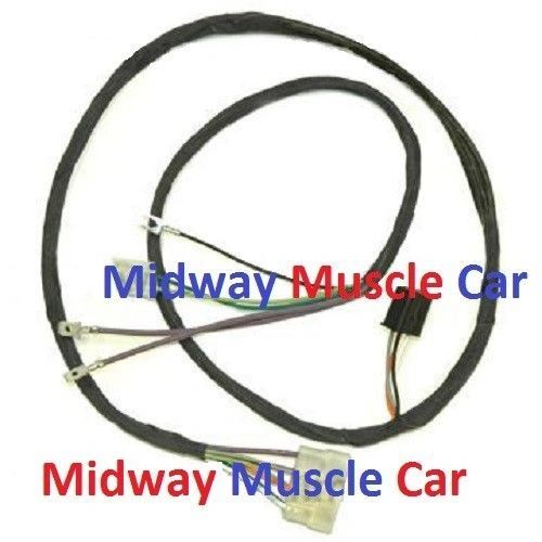 auto trans front console wiring harness 64 65 Pontiac GTO LeMans tempest