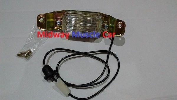 license plate light lamp assembly Chevy Chevelle Nova Camaro Pontiac Firebird