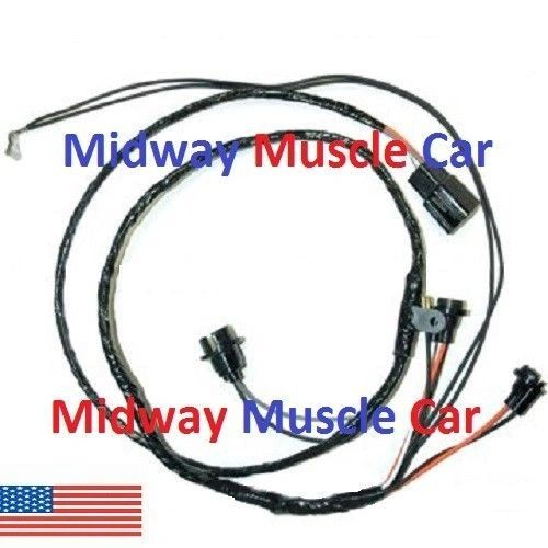 auto trans center console wiring harness 71 72 Olds Cutlass 442 F85