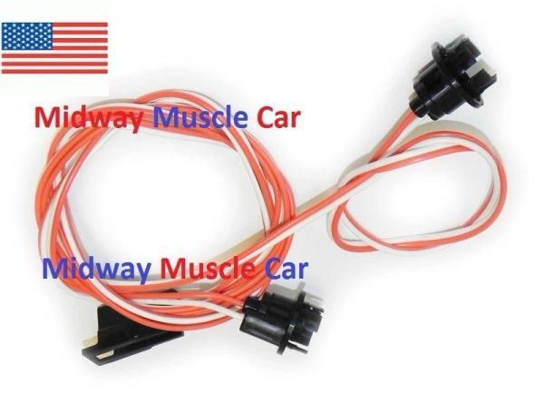 under dash courtesy light wiring harness with a/c 69-72 Pontiac GTO lemans judge