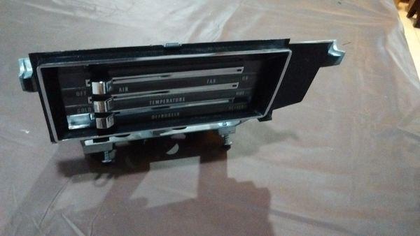 heater control assembly w/o A/C 66 67 Chevelle El Camino Malibu