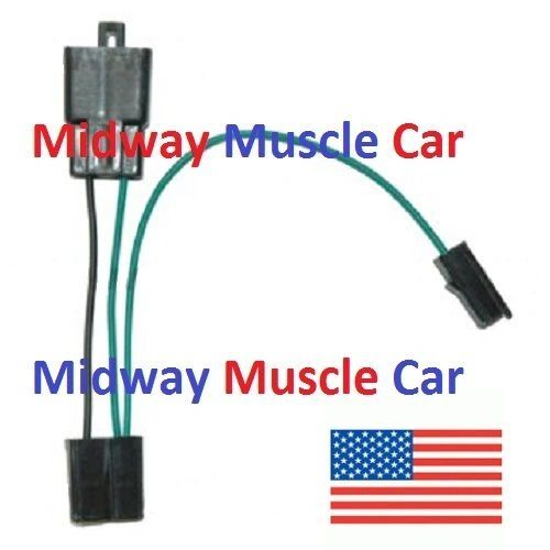 carb idle stop solenoid to TCS switch wiring harness 72 Olds Cutlass 442 F85