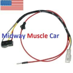 convertible power top switch wiring harness 65 66 67 Chevy Chevelle Malibu