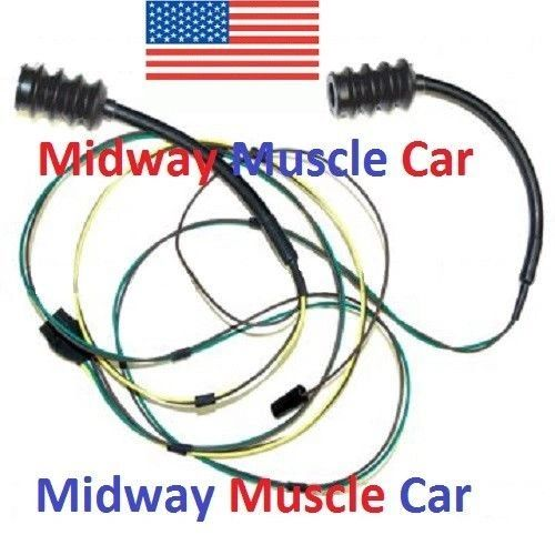 rear body taillight wiring harness Chevy pickup truck 63-66