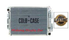 67 68 69 Firebird Camaro BB Cold-Case aluminum performance radiator w/ Auto Trans # RFE11AL