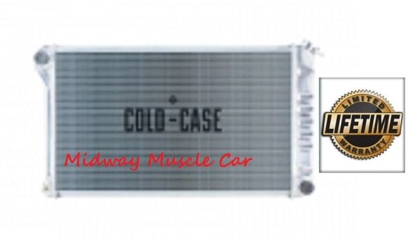 70-81 Chevy Camaro Cold-Case aluminum radiator manual trans # RPE545