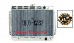 64 65 Chevy Chevelle Cold-Case aluminum performance radiator w/ auto trans # RPE541A