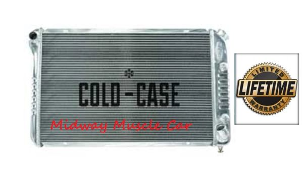77 78 79 80 81 82 Chevy Corvette Cold-Case aluminum performance radiator # RPE718