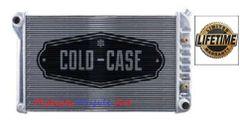 68 69 70 71 72 Chevelle GTO 442 Cutlass Skylark Cold-Case aluminum radiator w/Auto trans # RPE44l