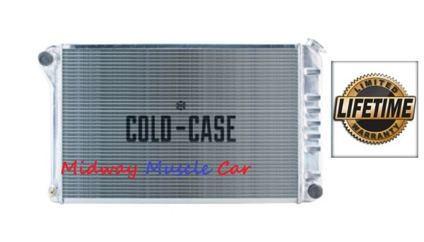 70-81 Pontiac Firebird Trans Am Cold-Case aluminum radiator manual trans # RFE18L