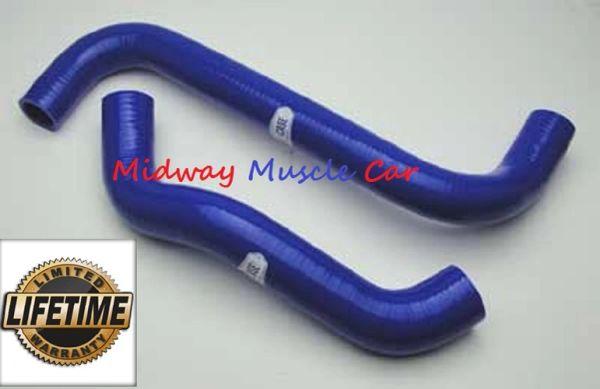 08 09 Pontiac G8 GT Cold-Case Silicone Radiator Hose Kit - BLUE # LMG5019B