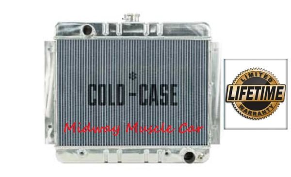 62-67 Chevy Chevy II Nova Cold-Case aluminum performance radiator # RPE540A RPE540