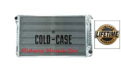 67-76 Chevy GMC Pickup truck Suburban Cold-Case aluminum performance radiator # RPE558ATF