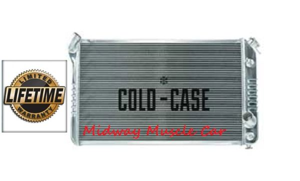 73 74 75 76 Chevy Corvette Cold-Case aluminum performance radiator # RPE716