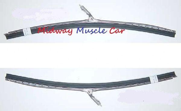 Wiper blades 66 67 Chevy Pontiac GTO Chevelle 442 67-69 Camaro Firebird