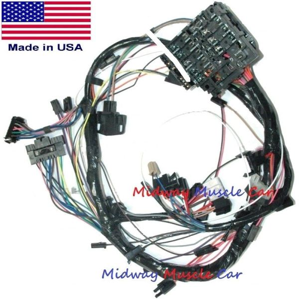 Dash wiring harness with fuse block 76 77 78 Chevy Camaro on