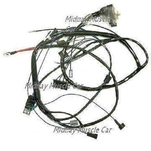 engine wiring harness V8 67 Pontiac GTO LeMans Tempest 400 326