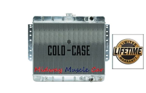 61 62 63 64 65 Chevy Impala Bel Air Biscayne Cold-Case aluminum radiator