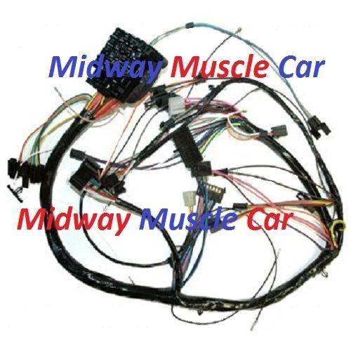 dash wiring harness 72 Chevy Chevelle Malibu El Camino SS