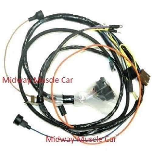 engine harness w/ gauges 69 Chevy Camaro SS 350 396 427