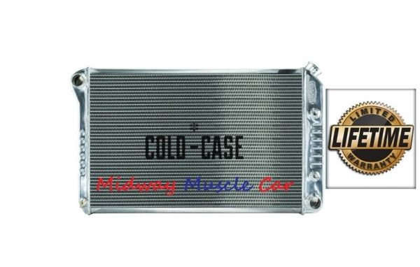 78-88 G-Body Chevy Olds Cutlass G/P Cold-Case aluminum performance radiator