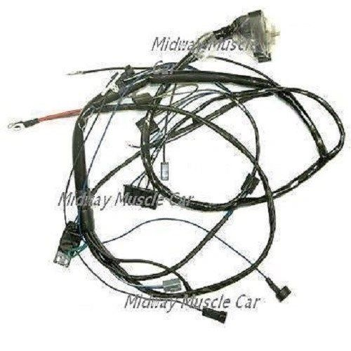 HEI engine wiring harness V8 ram air 67 Pontiac GTO LeMans 1967 455 400 428 389