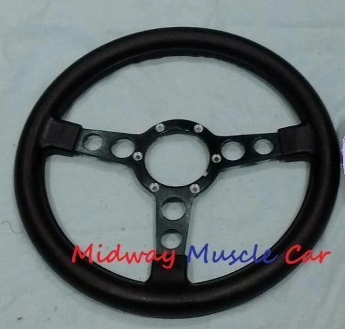formula steering wheel black spokes 70-81 Pontiac Firebird Trans Am Firebird