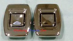 69-72 bucket seat chrome release button (pr) Chevy Chevelle GS Pontiac GTO 442