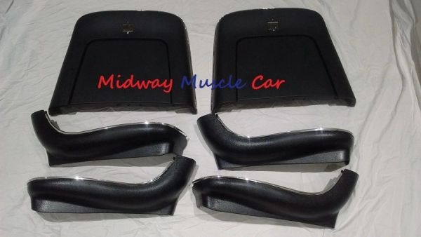 bucket seat plastic seatback & side trim panels 69-72 Chevy Chevelle Pontiac GTO