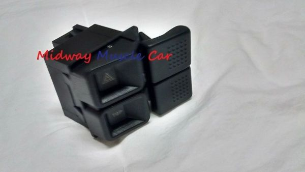 1987-1993 Ford Mustang GT LX Convertible Top & Hazard Dash Rocker Switch