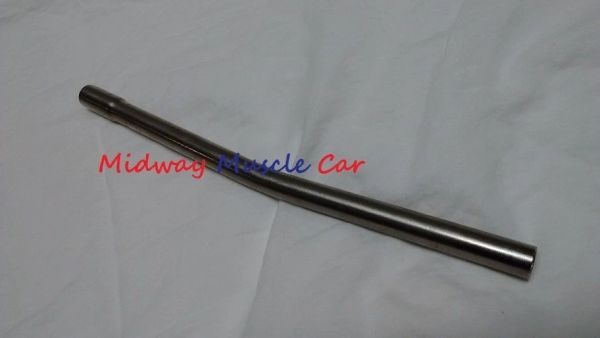 stainless steel 66-79 pontiac V8 press in block oil dipstick tube GTO T/A G/P