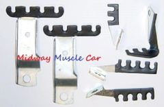 spark plug wire retainer bracket kit 68 69 Pontiac GTO LeMans Judge G/P