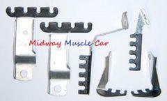 spark plug wire retainer bracket kit 70 1970 Pontiac GTO LeMans Judge G/P