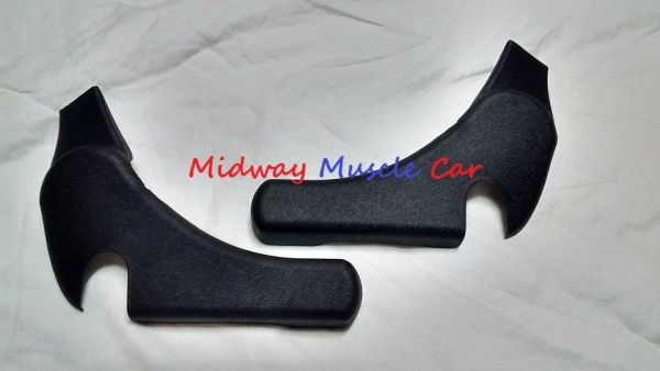 bucket seat hinge trim covers (pr) 73-81 Chevy Camaro Pontiac Trans Am Firebird