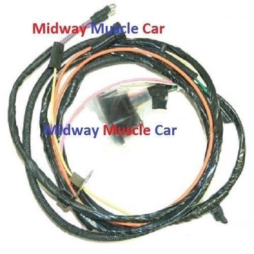 engine wiring harness V8 65 66 Chevy Impala Caprice Biscayne Bel air with a/c