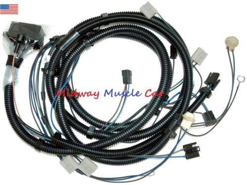 front end head lamp light wiring harness 75-80 Pontiac Trans Am Firebird T/A