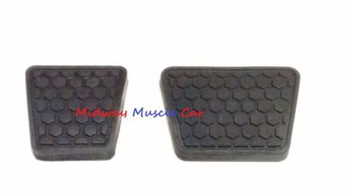 M/T waffle brake & clutch pedal pad set 82-92 Chevy Camaro Pontiac Firebird