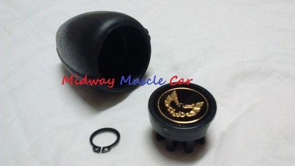gold A/T shift shifter knob assy 76-81 Pontiac Firebird T/A Formula Trans Am