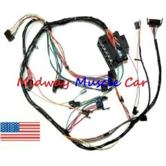 Dash wiring harness with fuse block 68 69 Chevy Nova