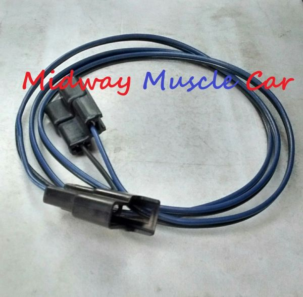 backup reverse light switch extension wiring harness 65 66 Pontiac GTO 66 442