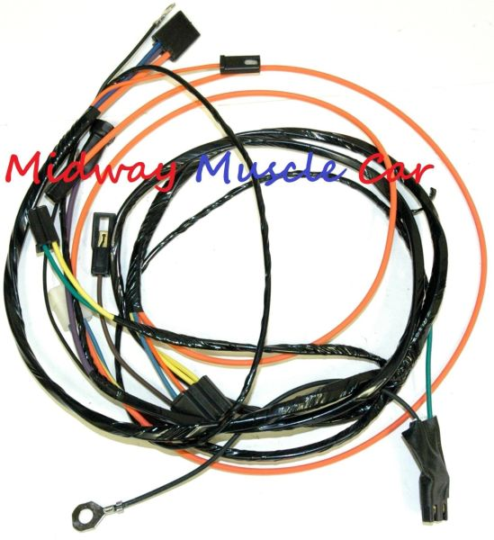 air conditioning a/c wiring harness 67-72 Chevy pickup truck blazer c10 suburban