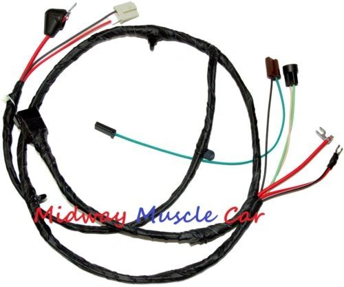 front end head light lamp wiring harness w/internal alt 63-66 Chevy pickup truck