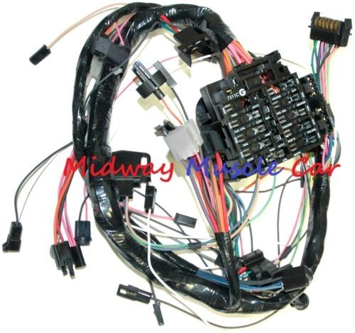 dash wiring harness with fuse block 79 80 81 chevy camaro | midway muscle  car  midway muscle car