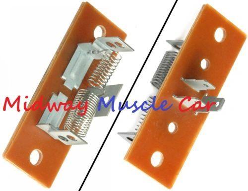 1958-70 Blower Resistor For Non Air Conditioned Cars Corvette Camaro Firebird